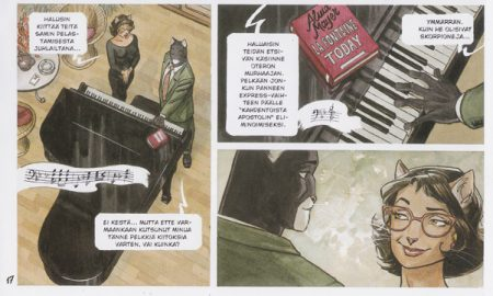 Canales & Guarnido: Blacksad 3: Punainen sielu.